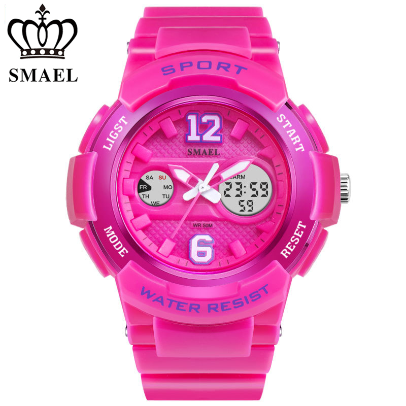 Fashion Brand G Style Shock Women Watch Digital Female Clock Electronic Waterproof Shockproof Lady Sports Wristwatch LED Alarm