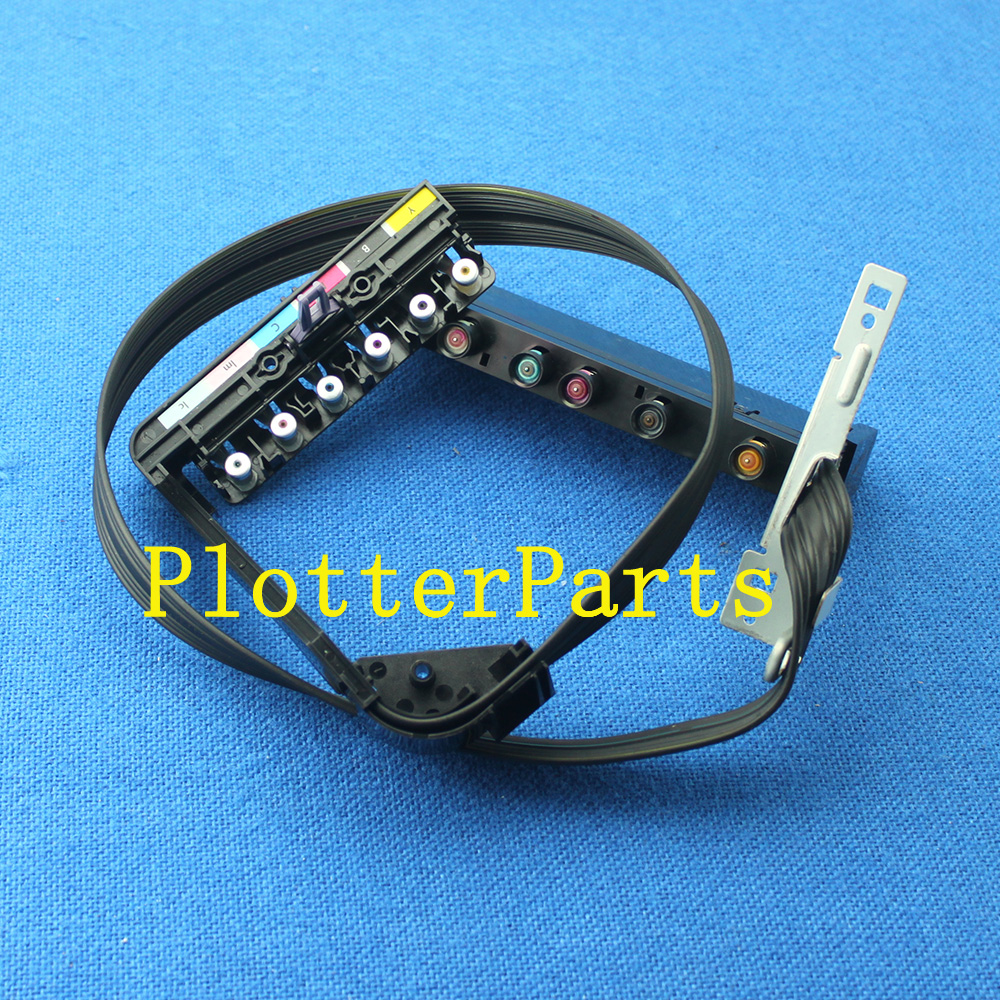 Q6656-60103 Q6656-60071 Ink delivery tubes assembly for HP DesignJet 90 90R 90GP Original used cr647 67004 ink tubes system for hp designjet t790 24 sv plotter parts original new