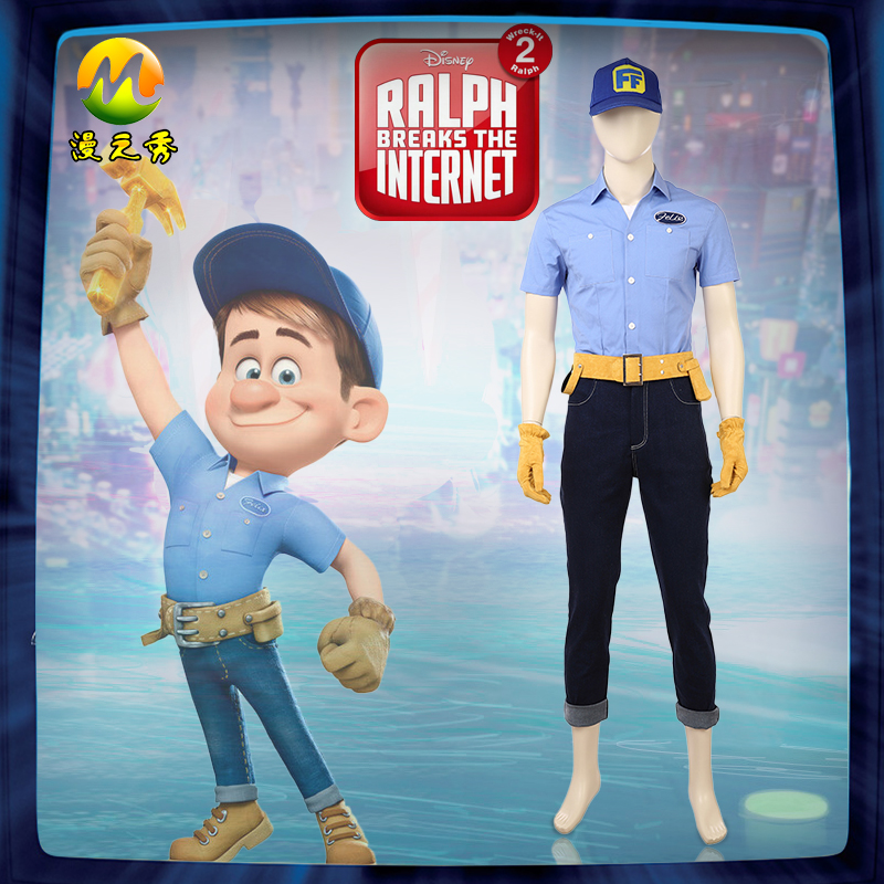 Newest Ralph Breaks The Internet Wreck It Ralph 2 Cosplay Costume