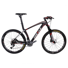 Costelo Ultimate 9.9 bicycle MTB Frame carbon Bicylce Mountain Bike 27.5 650B MTB Frame original groups wheels saddle bar tire