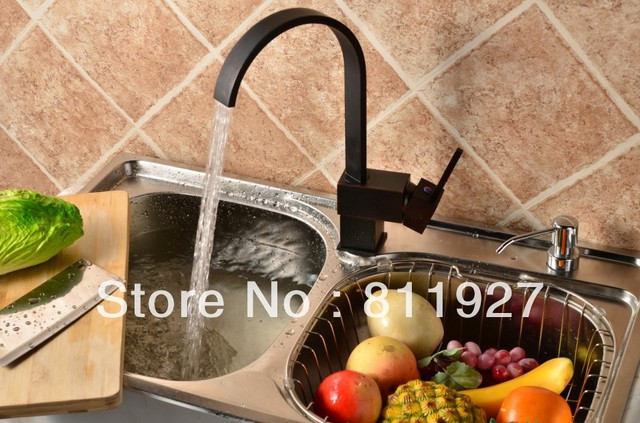 Gentil 10 Years Guarantee CE Approved New Style Single Level Black Color Antique  Bronze Brass Kitchen Sink