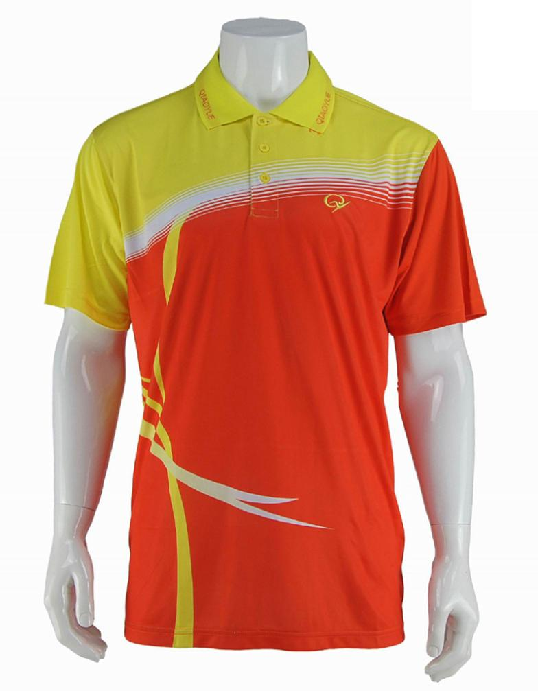 2014 New High Quality Quick Dry Polyester Sublimation Golf Shirts