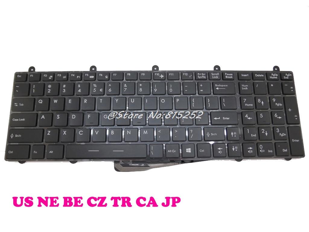 CA US TR Keyboard For MSI GP60 2QE-850NE Nordic 2QE-852BE 2QE-856BE Belgium 2QE-862JP Japan 2QE-871CZ Czech 2QE-890XTR Turkey new laptop keyboard for asus n46v n46vz n46vm n46 n46ei nordic ne layout