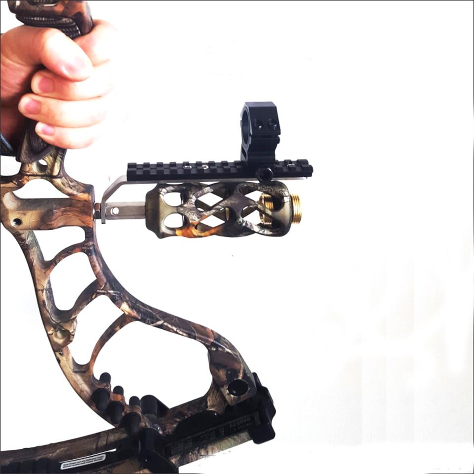 25.4mm/30mm anel scope tubo lanterna laser 20 mm weaver picatinny trilho adaptador de montagem para arco recurvo composto caça