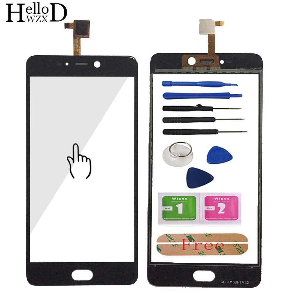 5.5 ''الهاتف المحمول شاشة تعمل باللمس ل Leagoo T5 محول الأرقام بشاشة تعمل بلمس لوحة الجبهة الزجاج بالسعة عدسة الاستشعار أدوات لاصقة