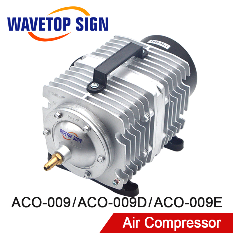WaveTopSign Air Compressor ACO-009 120W/ACO-009D 135W/ACO-009E 160W Air Pump For CO2 Laser Engraving Cutting Machine