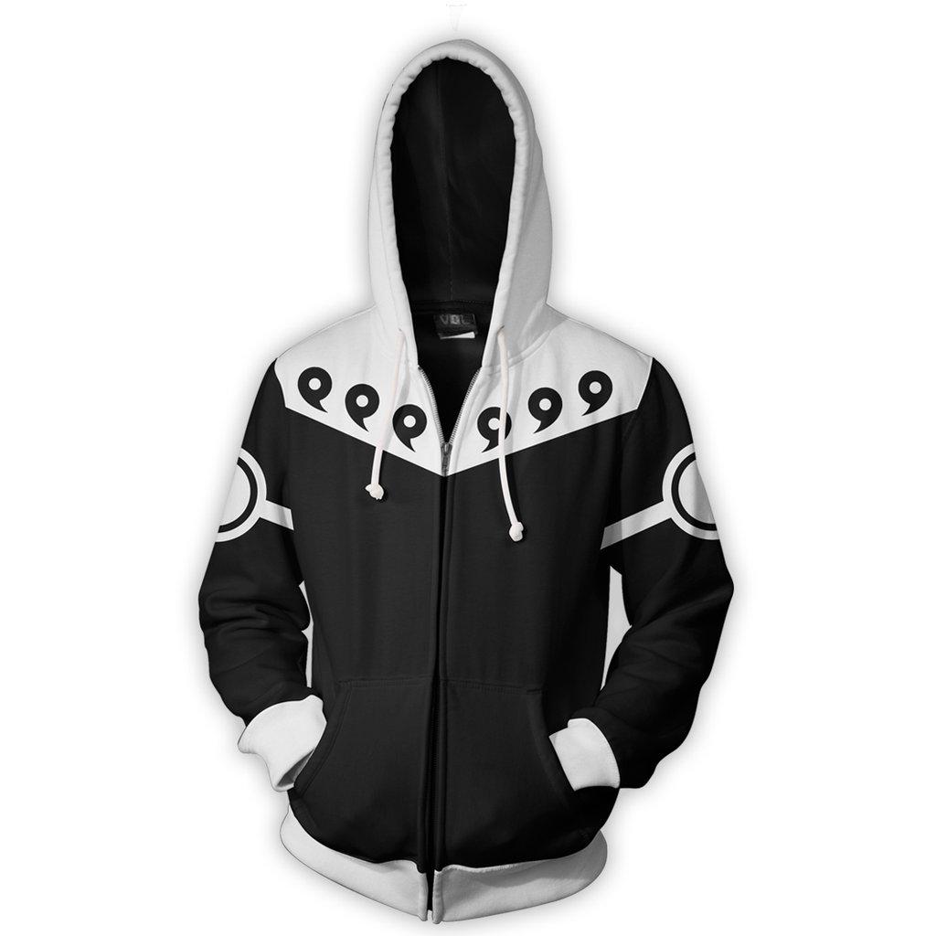 2017 new fashion Cool sweatshirt Hoodies Men women 3D print NARUTO 6 PATHS BLACK hot Style Streetwear Long sleeve clothing