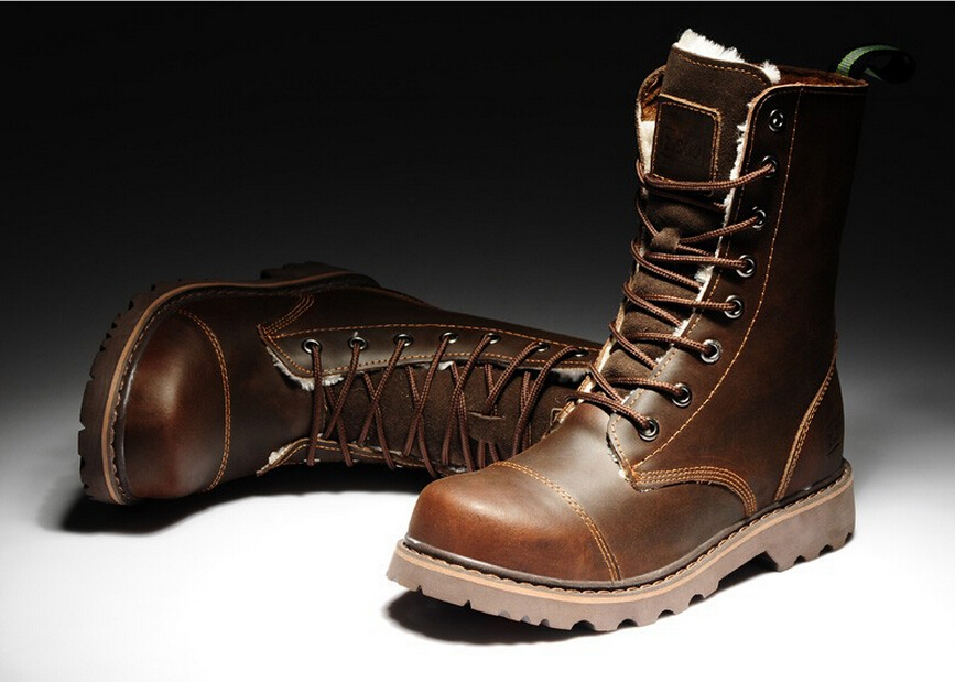 Aliexpress.com : Buy Z.suo Waterproof Real Leather Boots Winter ...