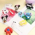 Creative Cartoon Cute Stitch Winnie Pooh Bear baymax Kawaii Olaf Mickey Mouse Party Decor Souvenir Kids Brooch Pins Badges X015