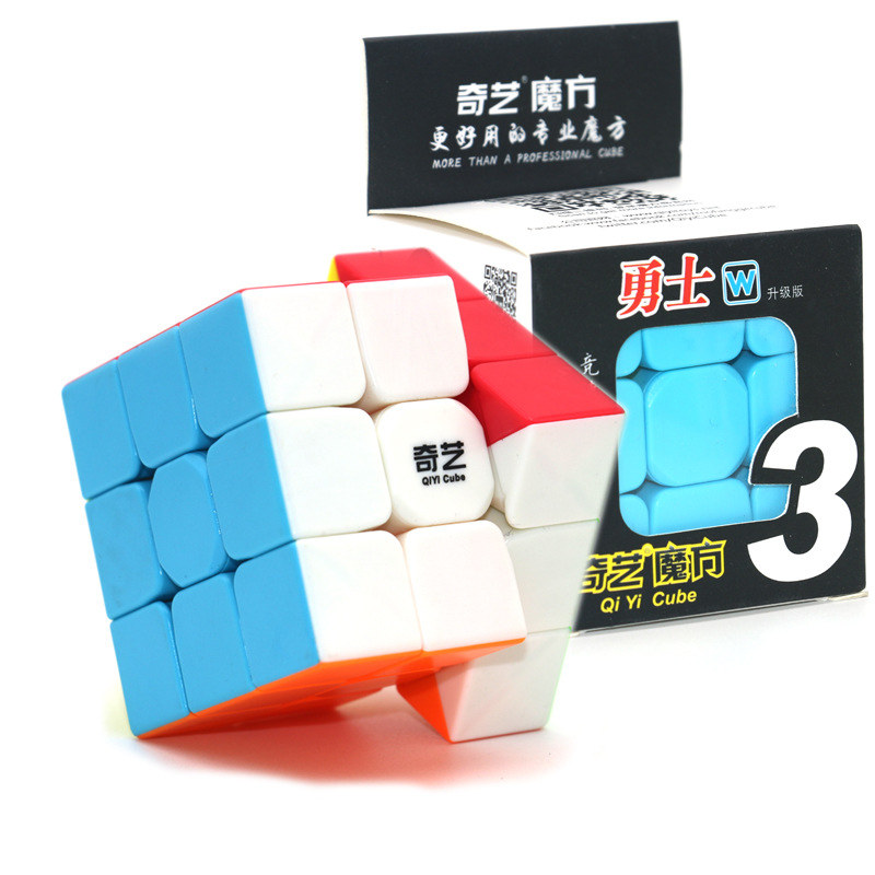 Qiyi Warrior W 5.7cm 3x3x3 Magic Cubes Speed Cube Puzzles 3 By 3 Speedcube For Children's Educational Cubo Magico Toys