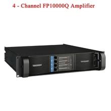 Высококачественный 4 канальный 4x2500 Вт Класс FP 10000q линейная акустическая система аудио Профессиональный Дискотека Dj Усилитель мощности FP10000Q