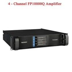 Alta calidad 4 canales 4x2500 vatios clase FP 10000q Line Array sistema de sonido Audio profesional Disco Dj amplificador de potencia FP10000Q