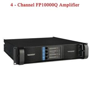 Image 1 - Di alta qualità 4 Canali 4x2500 Watt Classe FP 10000q Line Array Sistema Audio Audio Professionale Della Discoteca del Dj di Alimentazione amplificatore FP10000Q