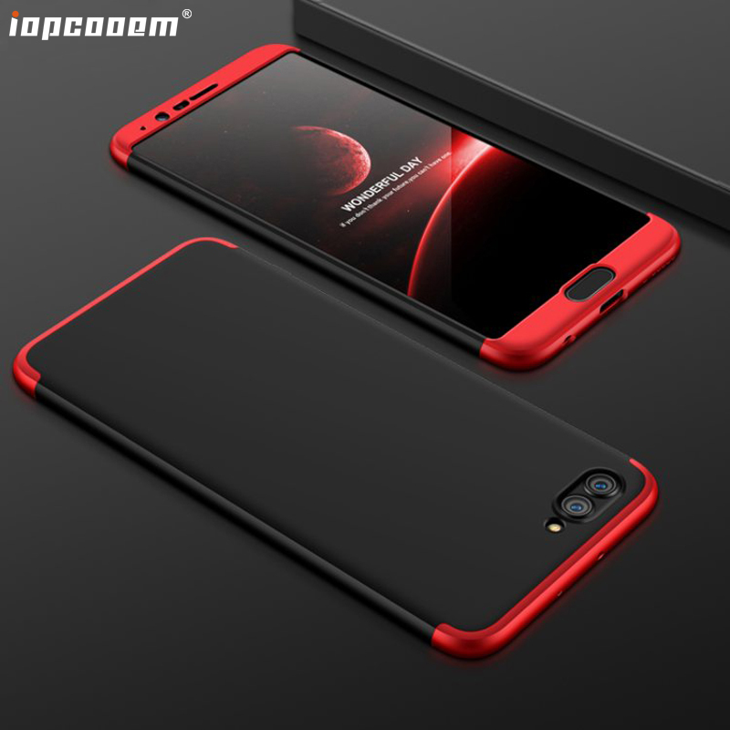 For Huawei Honor V9 Case The fashion business 3 in 1 comprehensive Hard Protective Phone Back Cover For Huawei Honor V10 Coque image