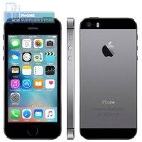 Разблокированный смартфон APPLE iPhone 5S 16 Гб/32 ГБ/64 Гб ПЗУ 4,0 дюймовый сенсорный экран 8MP Двойная камера WiFi Bluetooth, отпечаток пальца LTE телефон