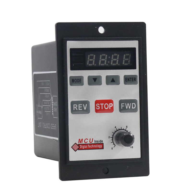 220V AC Digital Speed Governor Speed Control Unit Motor Speed Regulator 6W to 200W for Selection image