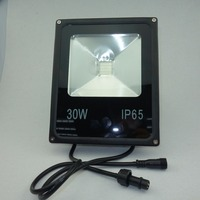 DC36V input 30W high power led WS2811 controlled RGB flood light;addressable;IP65;RGB full color