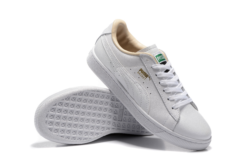 finest selection c3d98 cc4fe US $50.53 17% OFF|Free shipping 2018 Original BTS x Puma Collaboration Puma  Court Star Korea Cadet shoes men's Sneakers Badminton Shoes Size40 44-in ...