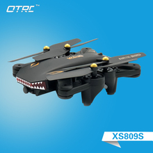 S809HW RC Foldable Selfie RC Drone With FPV Wifi Camera Altitude Hold Mini Quadcopter  2.0MP or 0.3mp hd drones vr glasses otrc цены