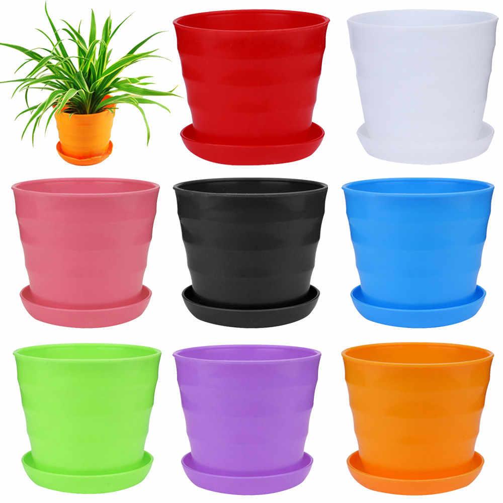 Mini Plastic Flower Pot Succulent