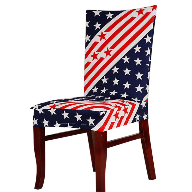 Protect Dining Room Wedding Banquet Floral Chair Seat Cover Slipcover Home DecorChina Mainland