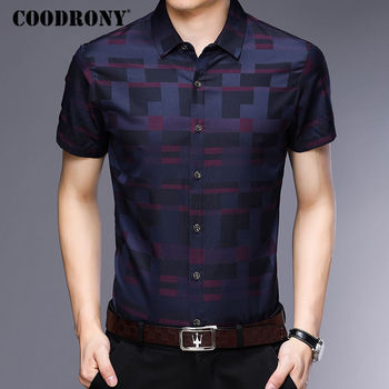 COODRONY Short Sleeve Shirt 1