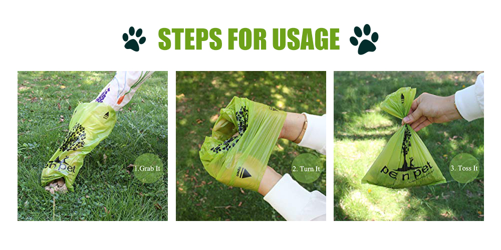 Dog waste bags ippets