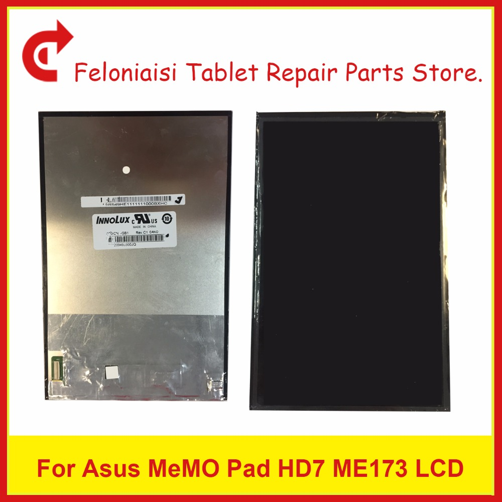High Quality 7 For Asus MeMO Pad HD7 ME173 ME173X K00B Tablet Display LCD Screen Free Shipping+Tracking Code high quality 9 7 for ipad air ipad 5 lcd display screen free shipping tracking code