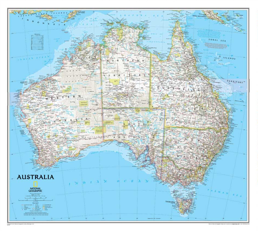 Compare prices on australia wall map online shopping buy for Best place to buy canvas prints