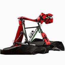 จักรยานป้องกันสำหรับจักรยานกระเป๋าเดินทางจักรยานกรณีInflatableแทรกจักรยานอุปกรณ์เสริมAir Bar Padding