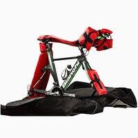 Proteção da bicicleta almofadas de ar para saco de viagem da bicicleta caso inserções infláveis acessórios da bicicleta barra de ar pading