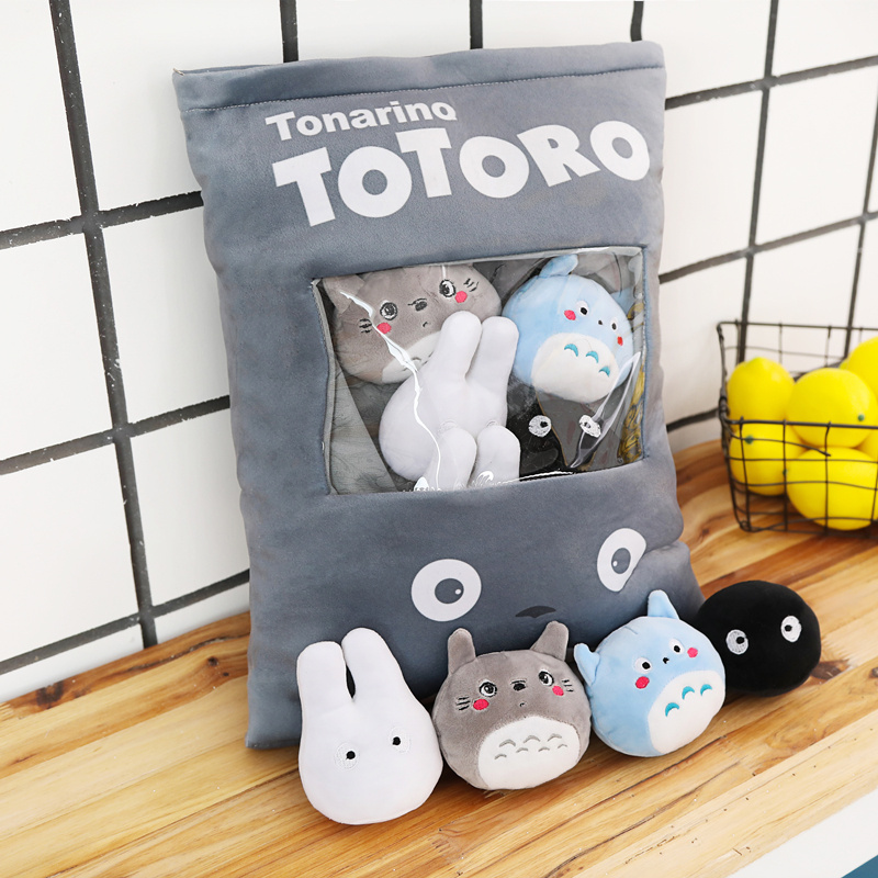 Plush-Toys Pillows Totoro Kawaii Dolls Stuffed Soft Fashion Children 50cm Cute Lovely