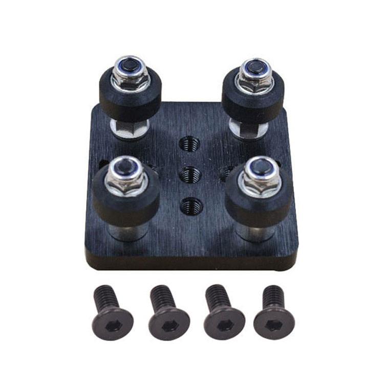 3D impresora parte Openbuilds V pórtico plat set especial Placa de deslizamiento para perfiles de aluminio V-slot mini cinco ruleta 1 Unidades