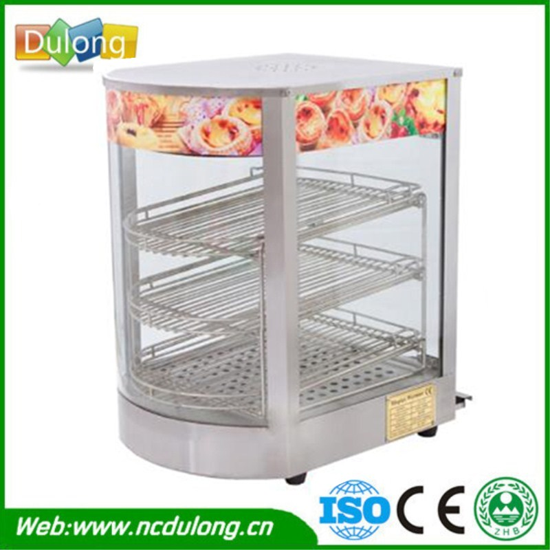 Commercial Stainless Steel Electric Egg Tart Warmer Three layers Keep Food Warm Heated Display Cabinet Warming Showcase pkjg dh2x2 stainless steel fast food warmer food warmer fast food equipment food warming cabinet