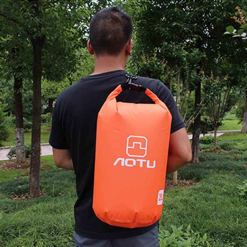 10L Waterproof Drifting Outdoor Swimming Waterproof Bag dry sack rafting sports Nylon Adjustable Storage Messenger Bag Travel