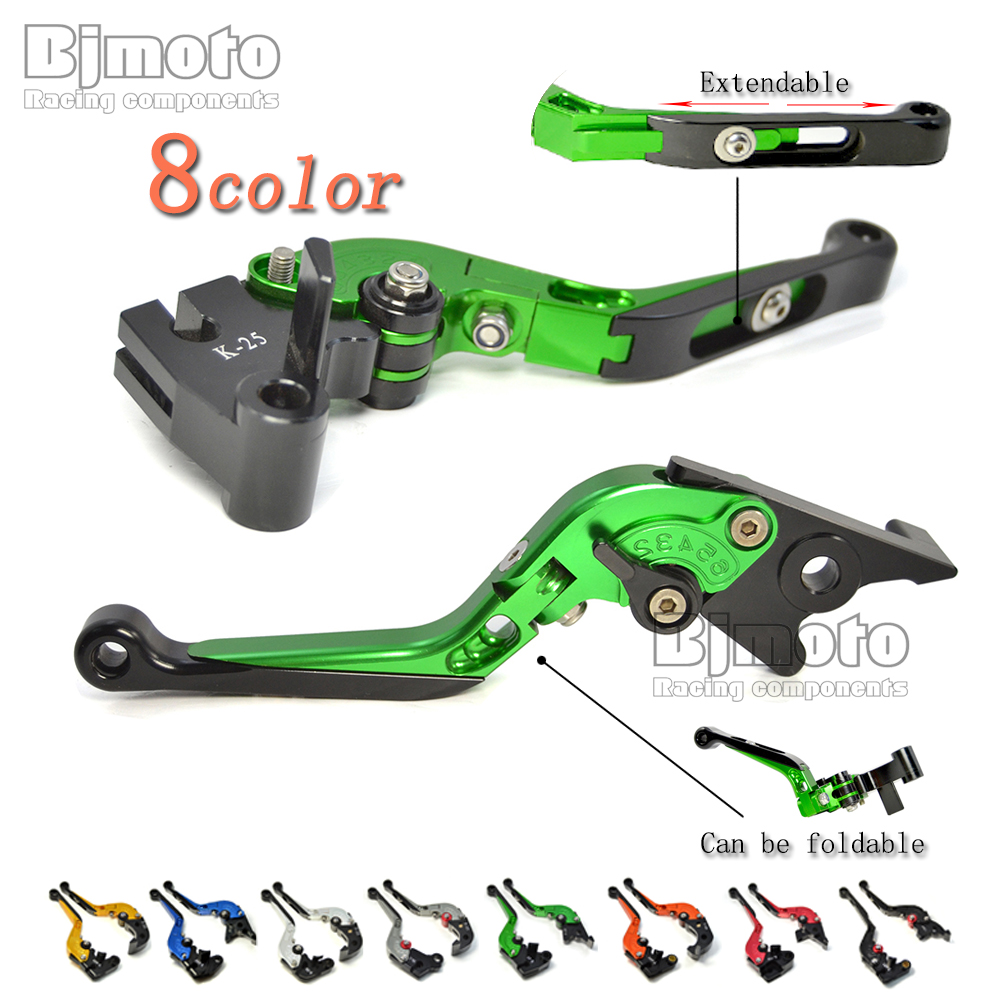 Green Z900 2017 CNC Motorbike Brake Clutch Levers For Kawasaki Z900 Z650 NINJA 650R ER6F VERSYS 300X VERSYS 1000 VERSYS 650cc top quality cnc foldable folding fingers wave brake clutch levers for kawasaki ninja 650r er 6f er 6n 2006 2008 red