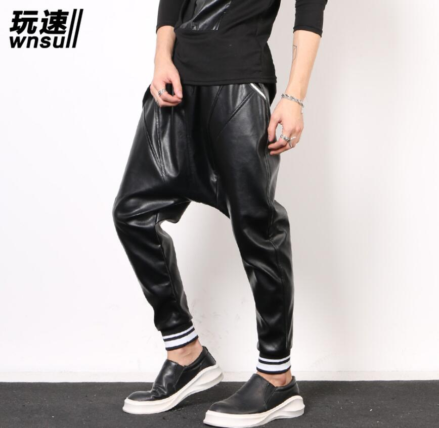 Casual Locomotive leather pants  1