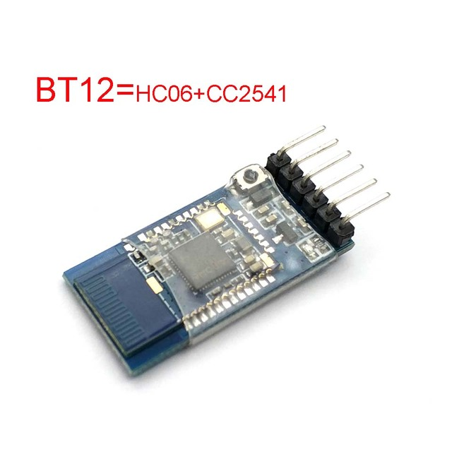 US $3 35 |BT12 with Bluetooth Bluetooth Dual mode Serial Port BLE4 0 +2 0  IOS Android Wireless Module Instead of HC 05 HC 06 CC2541-in Replacement