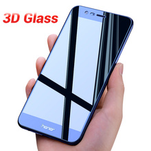 3D Glass Full Cover Screen Protector For Honor 9 lite 8 lite honor 9 8 V9 Tempered Protective Glass for honor 6X 7X 6A 6C 6C Pro