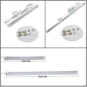 Image 5 - New USB LED Strip Bar Light DC5V SMD 2835 3W 5W 300lm 550lm USB LED Desk Lamps For Bedside Reading Working Studying Lighting