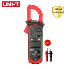 UNI-T UT202A 400-600A Ditgital Current Clamp Meters Diagnostic Tool Capacitance Tester NCV Test DC/AC Multi Tester 1pcs uni t ut202 400 600a digital clamp meters w temperature tester