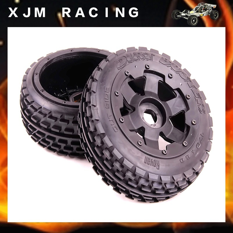 1/5 rc car racing parts,Baja 5B front off-road wheel tyres X 2pcs free shipping baja 5b off road race buggy rear tyres x 2pcs nylon super star wheel free shipping 85074
