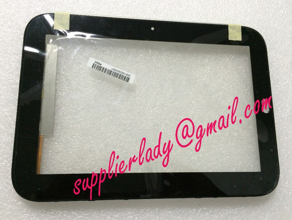 Original touch screen with borders for lenovo K1 screen number is: 0296 FPC-1 REV:3 free shipping business across borders