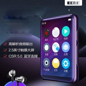 Image 2 - 2020 最新benjie X5 フルhd 2.5 インチのカラータッチスクリーンbluetooth 5.0 内蔵スピーカーロスレス音楽ハイファイMP3 プレーヤー
