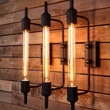 Nordic loft retro personality headlight aisle balcony corridor staircase steam tube wall lamp restaurant bar club cafe light bra(China)