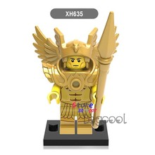 1PCS model building blocks action figure starwars superheroes Saint Seiya Collection Series Doll diy toys for children gift(China)