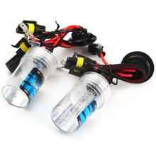 Auto Headlamp External Lights 1Pair 8000K Warm White 12V 35W Slim Ballast Xenon HID Kit Light Bulb Car Headlight H1 for Vehicle