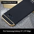Para samsung galaxy s7 edge case ipaky marca 3in1 moda chapeamento tampa traseira para samsung s7 edge case