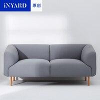 Роскошный диван наборы один два три сиденья с Gabriel ткань твердые рамки скандинавский стиль дизайн по Nadadora studi