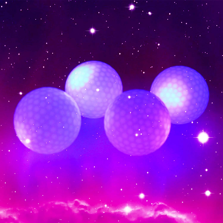 golfe noite fulgor flash luz led bola